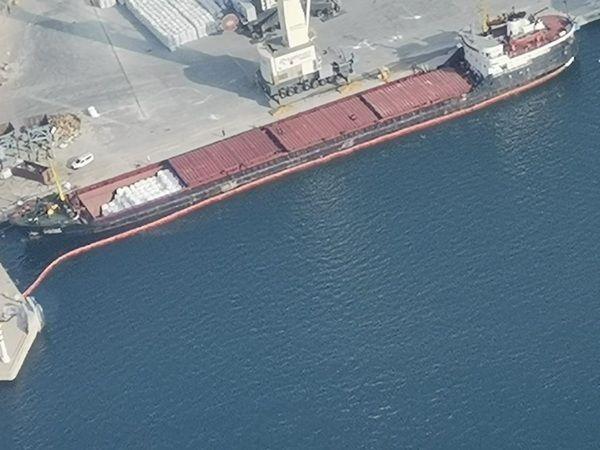 İzmit Körfezi'ni kirleten gemiye 1 milyon 286 bin TL ceza