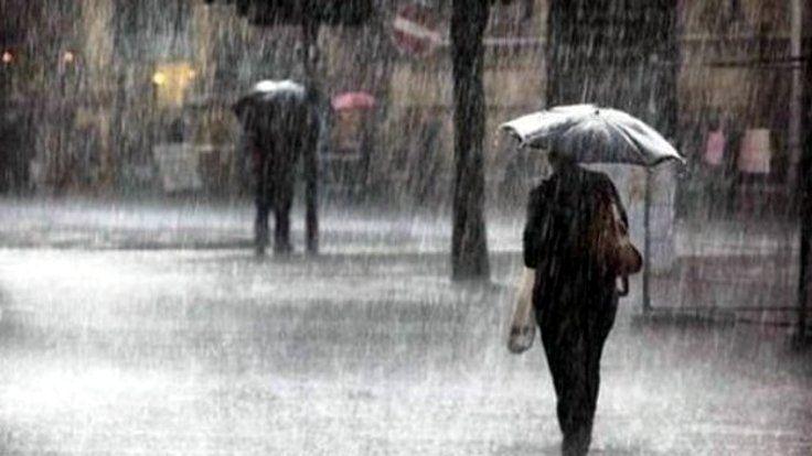 Meteoroloji yağmur için uyardı