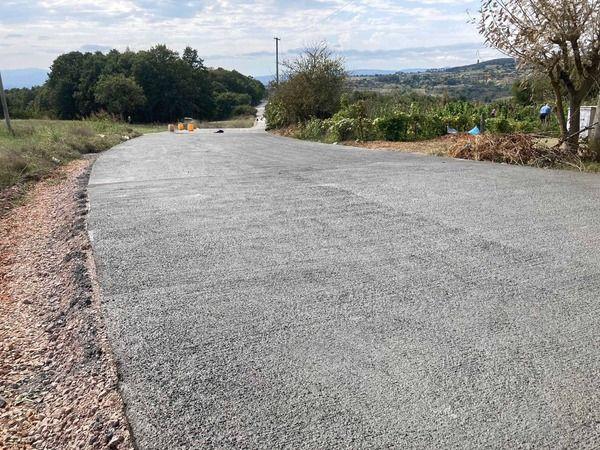 Sapakpınar-Zeytinburnu-Gedikli  arasına beton yol
