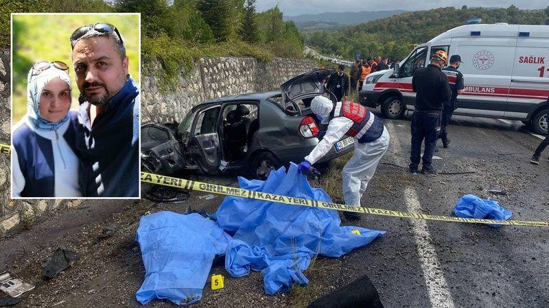 Efe Tur kazasında komiser yardımcısı ve eşi can verdi