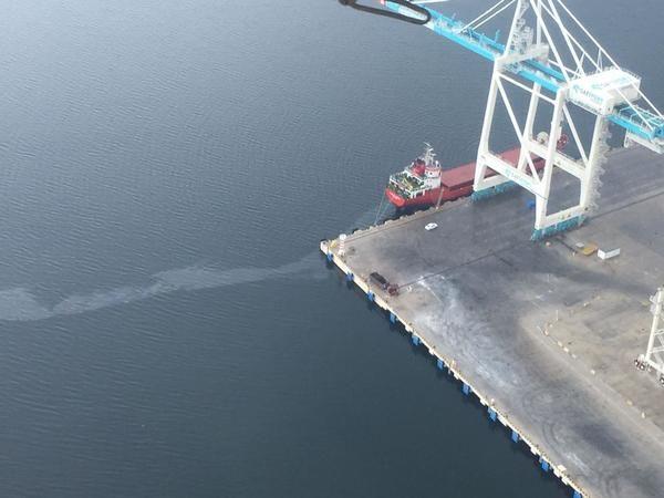 Körfez'i kirleten gemiye milyonluk ceza