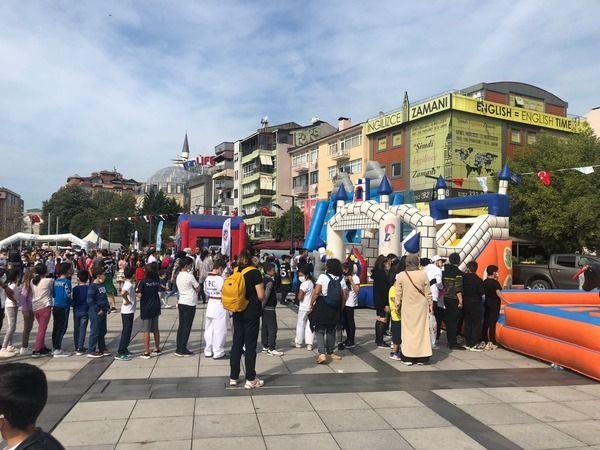 Büyükşehir'den çocuklara jest