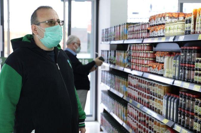 Çınar Halk Market'e  vatandaştan yoğun ilgi