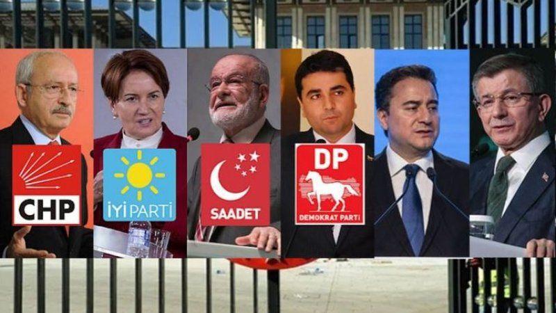 6 parti cumhurbaşkanı adayı belirlemek için bir araya geliyor