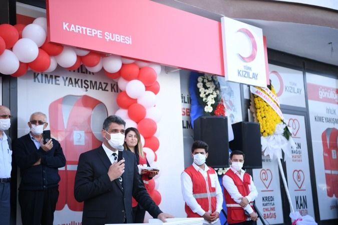 Kartepe'de Kızılay şubesi açıldı