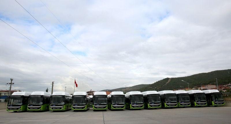 Büyükşehir'in otobüs ihalesine 141 milyonluk teklif