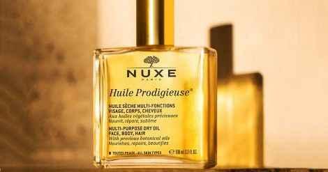 NUXE, cilt, saç ve vücut bakımını tek bir üründe birleştiriyor: Huile Prodigieuse 39