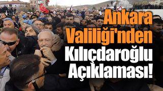 Ankara Valiliği'nden Açıklama!
