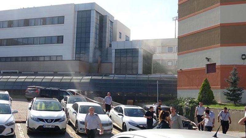 Umuttepe'de Yangın Çıktı! Hastalar Tahliye Edildi!