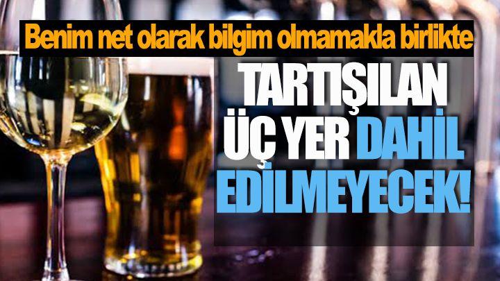 Mehmet Ellibeş; Tartışılan Üç Yer Dahil Edilmeyecek!