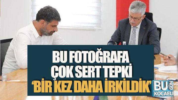 CHP'li Bayrak'tan O Fotoğrafa Sert Eleştiri