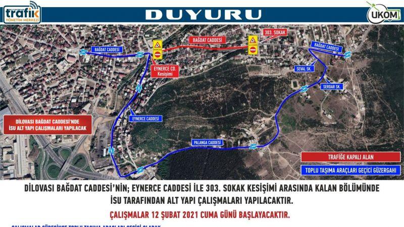 Kocaeli Haber - Körfez ve Dilovası'nda Geçici Güzergah Düzenlemesi