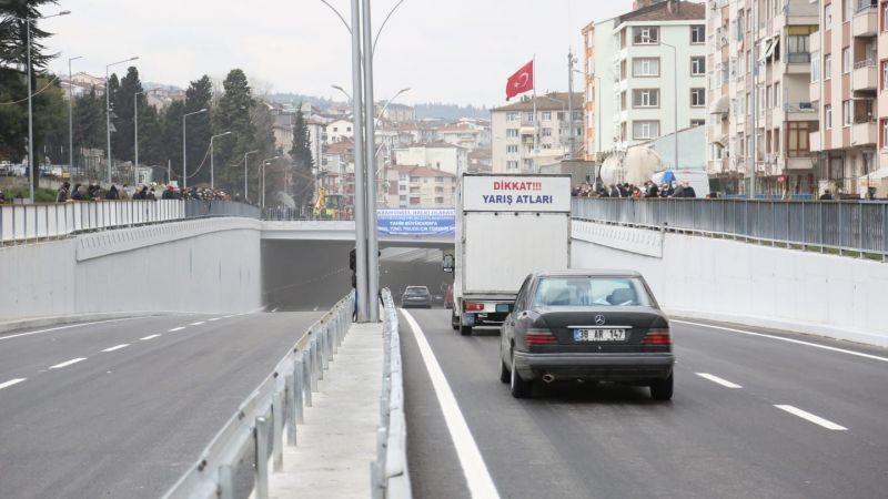 Karamürsel Köprülü Kavşağı trafiğe açıldı