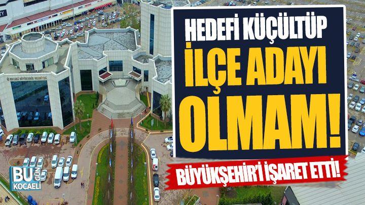 İzmit'i Kapattı, Büyükşehir'e Yeşil Işık Yaktı!