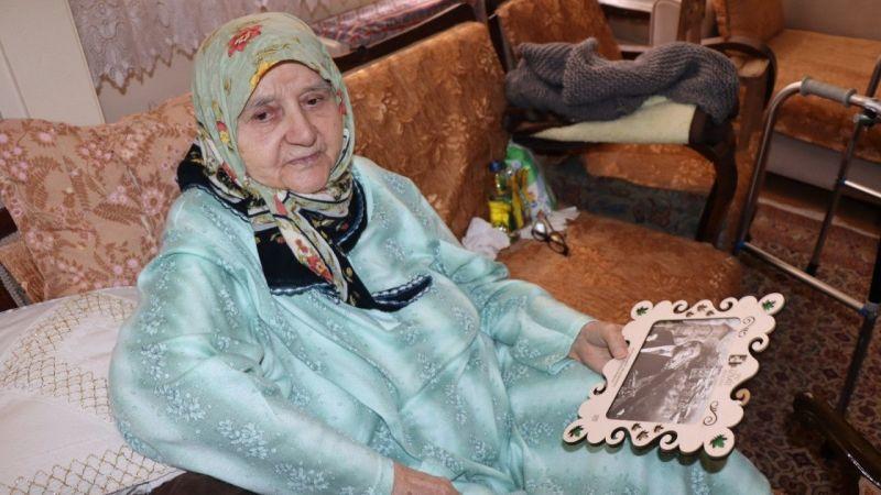 Kocaeli Haber - 106 Yaşındaki Şaziment Teyze'ye Anneler Günü Sürprizi