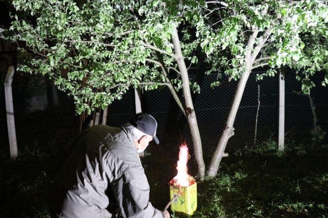 Mayıs ayında zirai don uyarısı üreticileri harekete geçirdi
