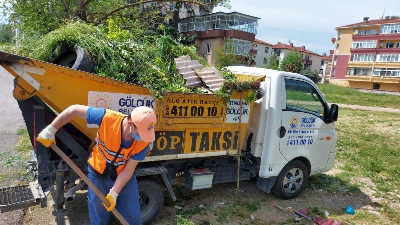 Kocaeli Haber - Gölcük Belediyesi Çöp Taksiler