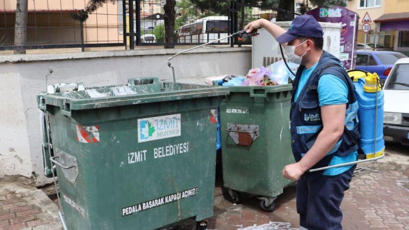 Kocaeli Haber -İzmit Belediyesi'nden Tam Kapanmada Temizlik