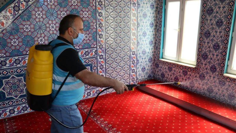 Kocaeli Haber - İzmit Belediyesi Camileri  İbadete Hazırlıyor