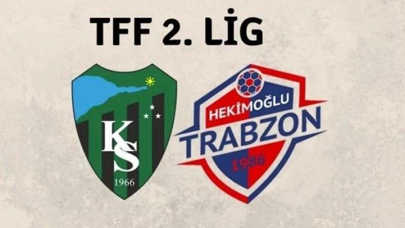 Kocaeli Haber - Kocaelispor-Hekimoğlu Trabzon Maçı 15 Dakika Geç Başladı
