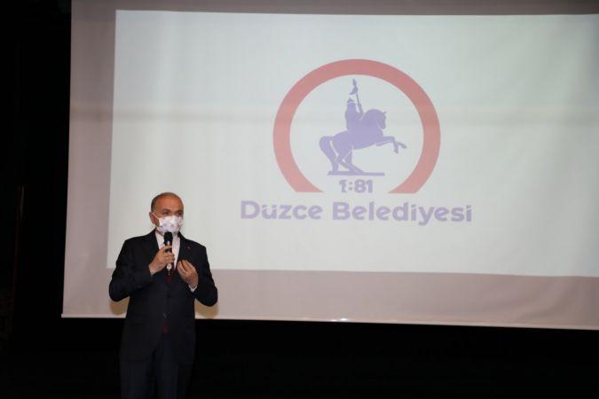 Düzce Belediyesi'nin yeni logosu tanıtıldı