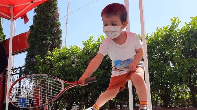 Bilgi Köprüsü Kids Anaokulu'nda Minik Tenisçiler Yetişiyor