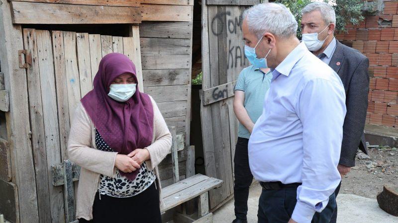 Kocaeli Haber - Büyükgöz'den, Hürriyet Mahallesi'ne Ziyaret