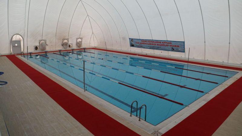 Kocaeli Haber - Yüzme Havuzu Tamamen Yenilendi