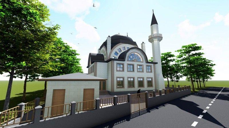 Kocaeli Haber - Ambarcı Camii Çalışmaları Devam Ediyor