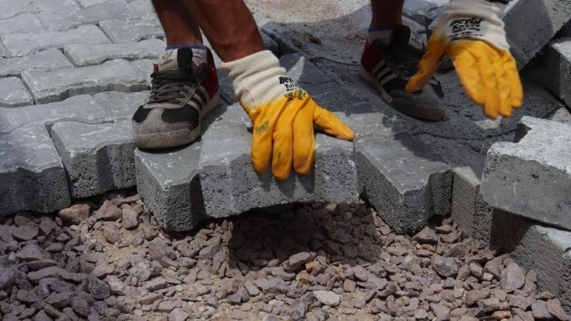 Kocaeli Haber - Erenler'de Parke Taşları Yenileniyor