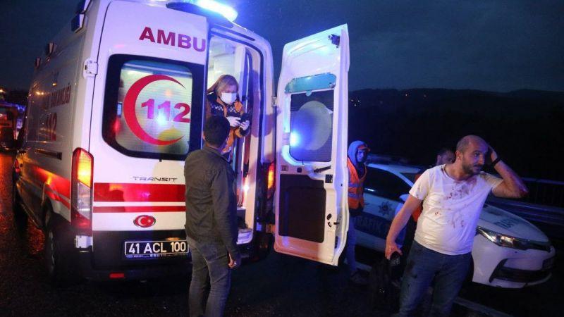 Kocaeli Haber -TEM'deki Zincirleme Kazada Yaralı Sayısı 20'ye Yükseldi
