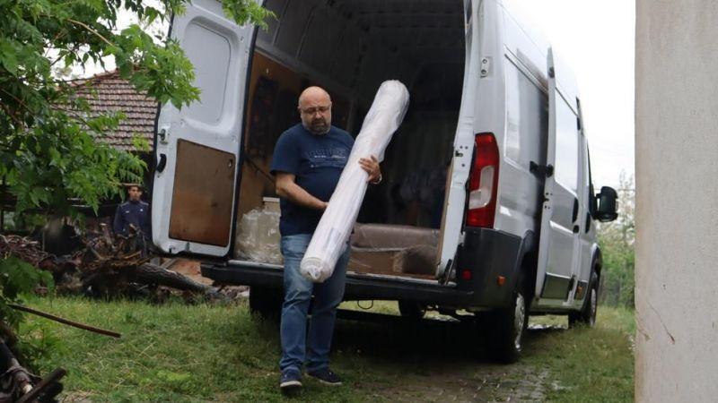 Kocaeli Haber - İzmit Belediyesi Mağdur Aileye Yardım Etti