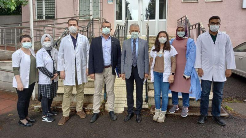 Pehlivan ve Çeker'den Dilovası ASM Çalışanlarına Ziyaret