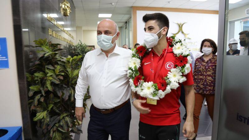 Kocaeli Haber - Darıca'nın Yıldızı Şamdan Olimpiyatlarda!