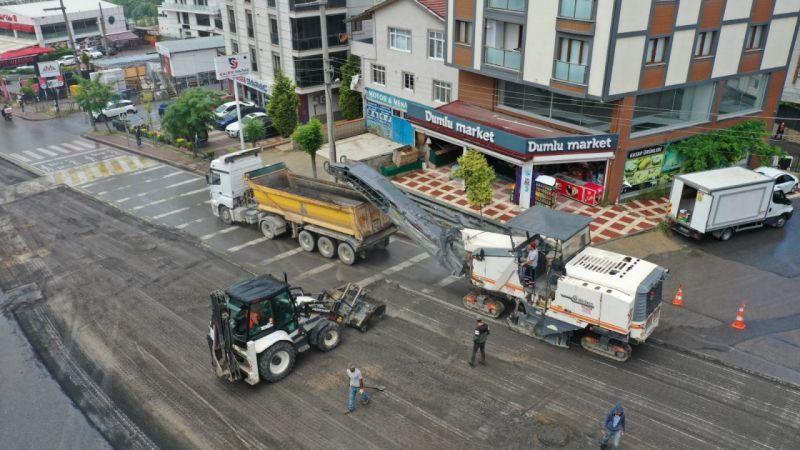 Kocaeli haber - Mehmet Akif Ersoy Caddesi'nde konfor arttırıldı