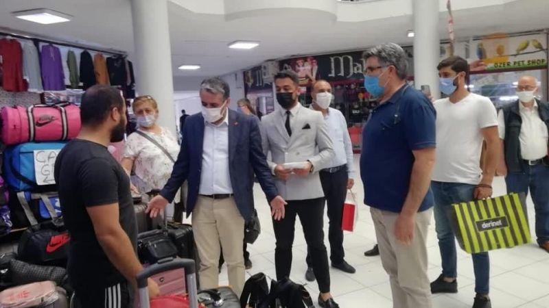 Kocaeli Haber - CHP Derince'den Esnaf Ziyareti! Daha Güzel Bir Derince'yi Beraber İnşa Edeceğiz