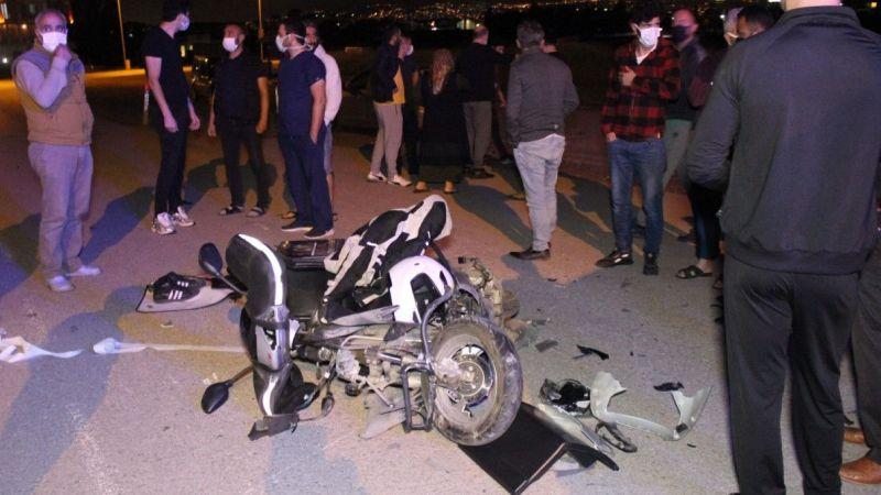 Kocaeli haber - Kontrolsüz kavşakta otomobil ile motorlu kurye çarpıştı: 1 yaralı