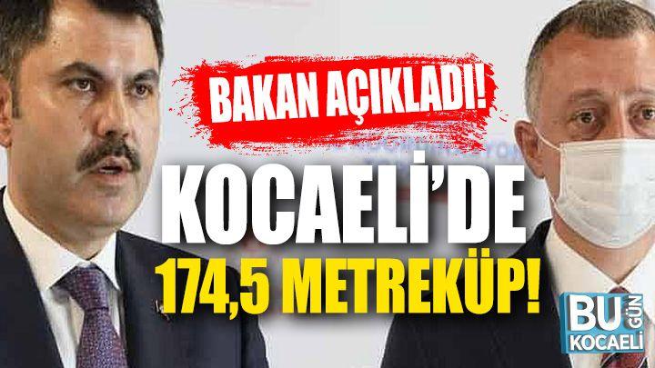 Kocaeli haber - Murat Kurum'dan Kocaeli Açıklaması!