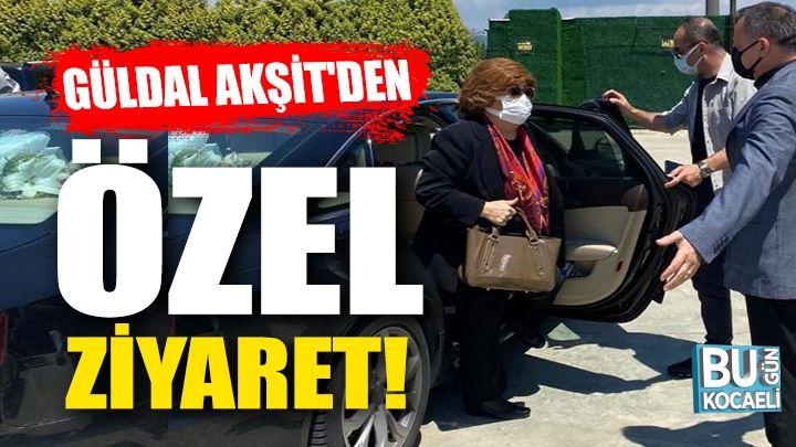 Güldal Akşit'den Halil Dokuzlar'a Özel Ziyaret!