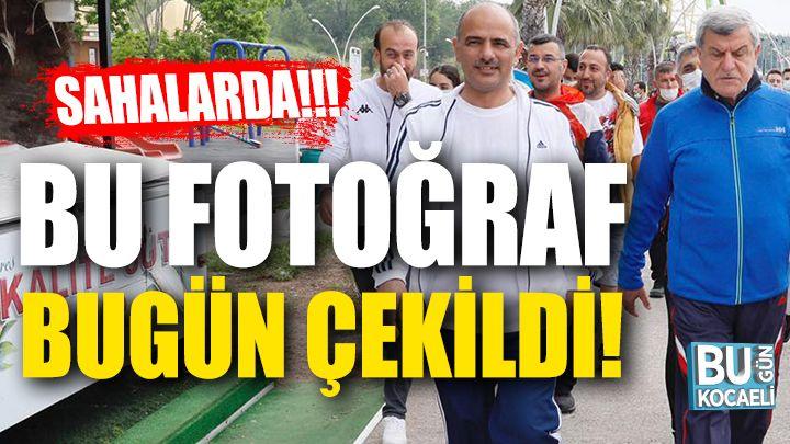 Fikri Işık'tan Sonra İbrahim Karaosmanoğlu'da Sahalara İndi!