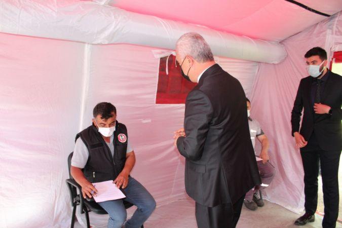 """Kastamonu Organize Sanayi Bölgesi'nde """"mobil aşı"""" uygulaması başladı"""