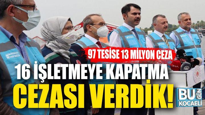 Kocaeli haber - Marmara'yı kirletenler cezasız kalmadı