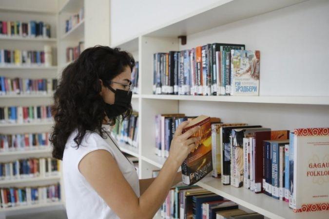 Düzce'de 125 bin 415 kitap var