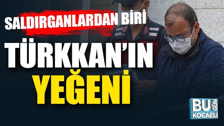 Kocaeli haber- Muhabiri darp eden saldırganlardan biri Türkkan'ın yeğeni çıktı
