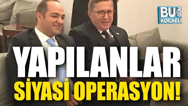Cenk Erbil; Lütfü Türkkan'a Yapılan Siyasi Operasyon!