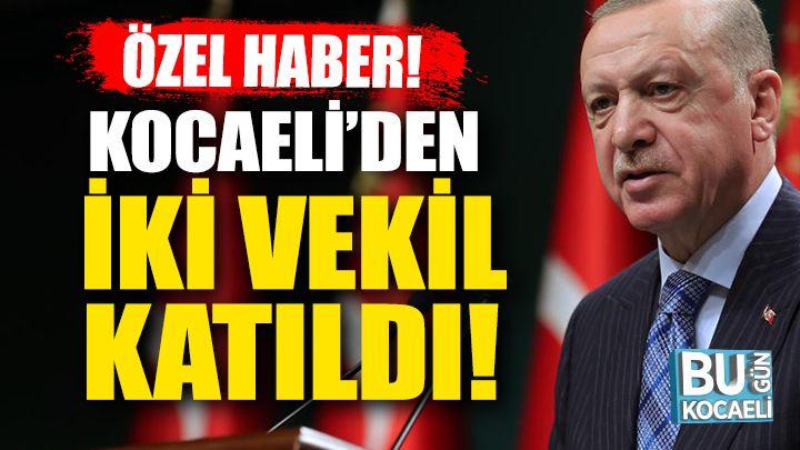Cumhurbaşkanı Erdoğan İle İstişare Toplantısına Katılan İki Kocaeli Vekili Hangileri?