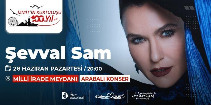 Kocaeli haber- Şevval Sam konserinin yeri değişti