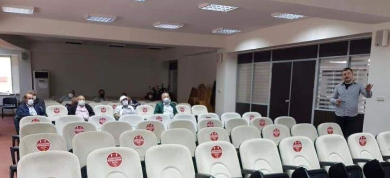 Kastamonu Belediyesi'nde iş sağlığı ve güvenliği eğitimleri veriliyor