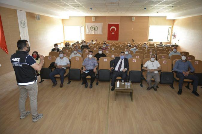 DSİ personeline 'narko rehber' eğitimi