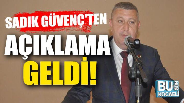Kocaeli haber- İstifa eden AK Partili Güvenç'ten açıklama geldi!